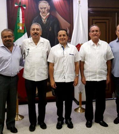 Confirma Gobernador nombramiento de Jorge Pérez Pérez al frente del Instituto de Movilidad en Quintana Roo