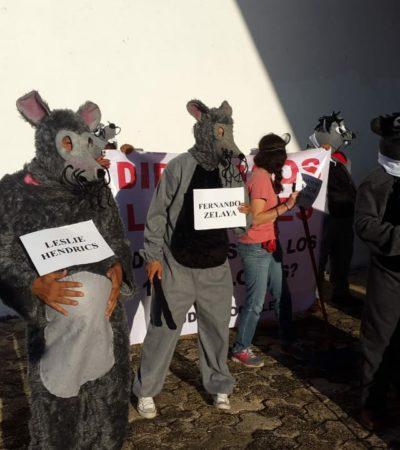 """""""Sólo hablan por hablar"""", dice Yamina Rosado sobre el performance que asociaciones civiles realizaron afuera del Congreso"""