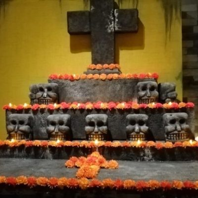 ABREN EL MUSEO DE XIBALBÁ EN PLAYA DEL CARMEN: Buscan que turistas se lleven el concepto de la muerte que tienen los mexicanos