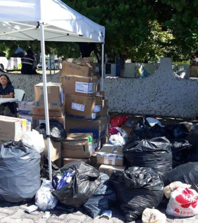 Cofepris logra recolectar más de dos toneladas de medicamento caduco en Playa del Carmen durante el 'Medicatón'