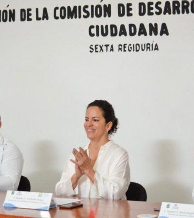 Regidores de la comisión de desarrollo social se comprometen a trabajar en programas de educación, salud y asistencia social, en Tulum