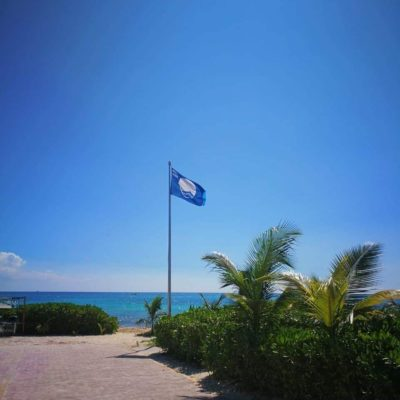 Izan nuevamente la 'Blue Flag' en Punta Esmeralda