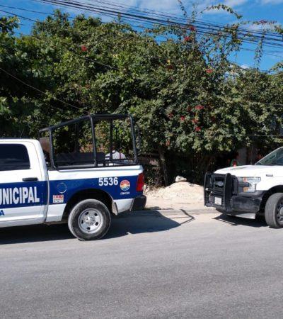 Asesinan a golpes a un hombre en una palapa de la Región 235, por la zona de Rancho Viejo
