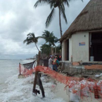 Ante inoperancia de la Profepa, el hotel Mahekal continúa construyendo, luego de verter cemento en el mar