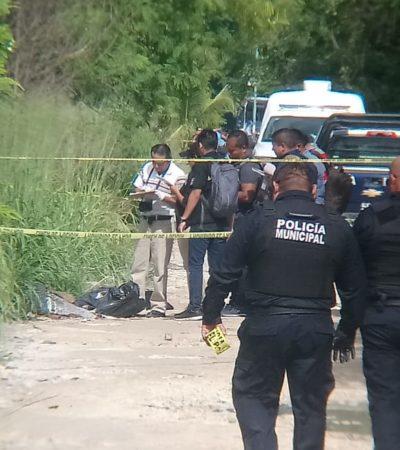 Aparece otro cuerpo descuartizado y embolsado en la SM 214 de Cancún
