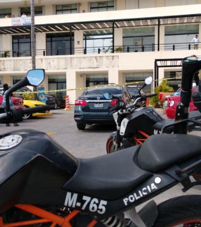 ASALTAN BANCO EN CANCÚN: Varios sujetos armados consuman atraco en Banamex de la plaza Punta Tulum