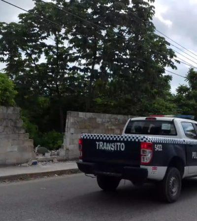 Hallan cuerpo de una persona asesinada en la SM 63, por La Torcasita de Cancún