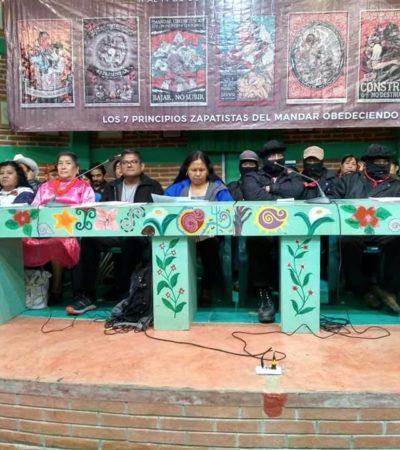 Marcan distancia zapatistas e indígenas del próximo régimen de AMLO; es continuidad neoliberal, acusan