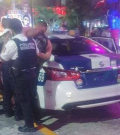 Confirman que fueron 12 los policías militares que fueron arrestados por escandalizar en la Zona Hotelera de Cancún