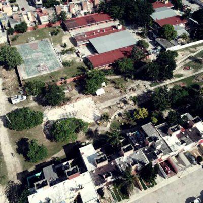 A una semana del desalojo de la capilla de San Pablo Apóstol, comienza comuna con limpieza y mantenimiento de predio en la Región 200