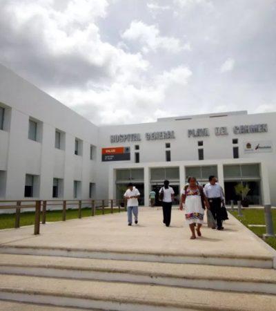 """""""En el Hospital General de Playa del Carmen tenemos la política de cero rechazo a los pacientes"""", dice director del nosocomio, al desmentir falta de atención médica a embarazada"""