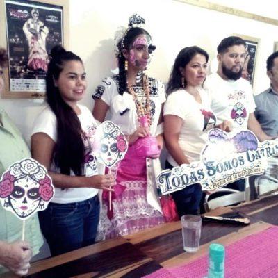 Invitan a una nueva edición de 'Todas somos Catrinas' en Playa del Carmen