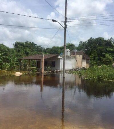Por lluvias, campesinos pierden 650 hectáreas de maíz, cacahuate y chihua en Puerto Arturo