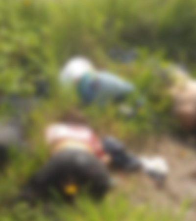 VIOLENCIA EN JALISCO: Matan a dos mujeres y cuatro hombres en un predio de Tonalá