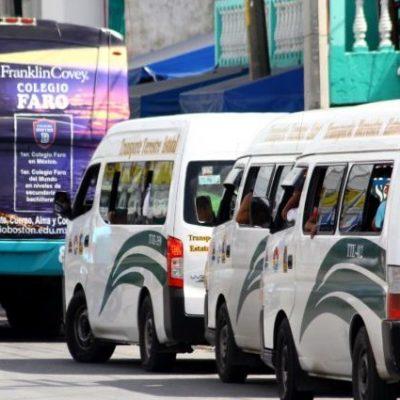 Dice Mara Lezama que buscará amplio consenso en transporte público, incluidos mototaxis y TTE