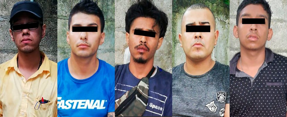 Detienen a 5 personas por el delito de despojo con violencia en Cancún