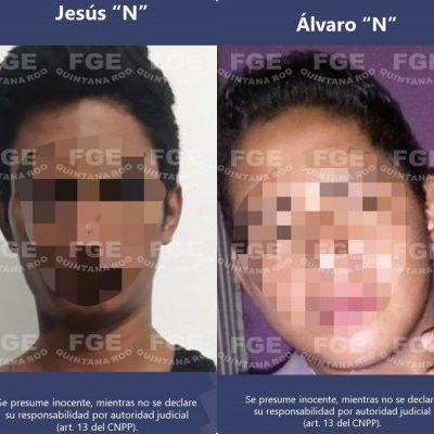 DETIENEN A 4 IMPLICADOS EN MATANZA EN PUERTO JUÁREZ: Los presuntos sicarios son acusados por la muerte de 5 personas, entre ellas un policía ministerial