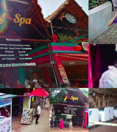UBICAN MEDIANTE CÁMARAS A SOSPECHOSOS DE EJECUCIÓN EN LA QUINTA: Pide Alberto Capella colaboración de ciudadanos para ubicar a posibles testigos o implicados en el asesinato de una mujer en un spa de la zona turística de Playa del Carmen