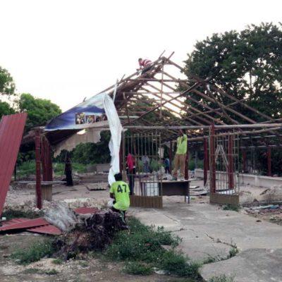 TRIUNFO JURÍDICO CONTRA LA IGLESIA: Tras 4 años de litigio y 8 de invasión de un espacio público, inician desmantelamiento de la capilla de San Pablo Apóstol en la Región 200 de Cancún