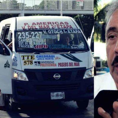 El Instituto de Movilidad meterá 'orden' en unidades de TTE, vinculadas al felixismo-borgismo en Cancún, asegura Jorge Pérez
