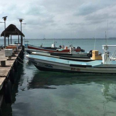 """Suspenden navegación para embarcaciones menores de Bacalar y OPB ante la formación de la Depresión Tropical """"Catorce"""""""