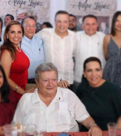 """""""¡CON BASE EN QUÉ! ¡POR FAVOR"""": Truena Gastón Alegre contra Mara Lezama por su idea de cambiarle el nombre al municipio de Benito Juárez por el de 'Cancún'"""