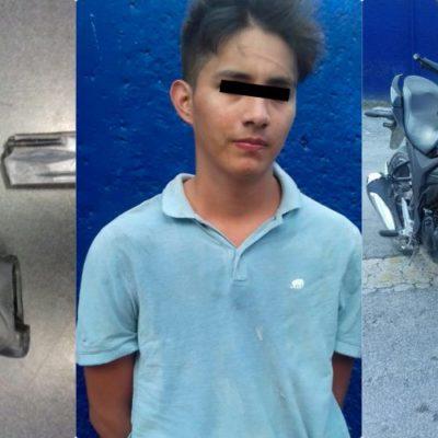 Detienen a presuntos asesinos de un hombre en la 103 de Cancún