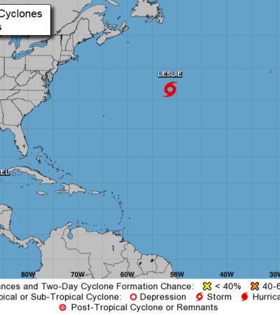 NACE TORMENTA TROPICAL FRENTE A COSTAS DE QR: 'Michael' dejará fuertes aguaceros en la región, aunque no se prevé evolucione a huracán