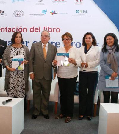Se reúne Laura Beristaín con la directora general del Centro de Integración Juvenil para trabajar en un proyecto contra las adicciones en Solidaridad