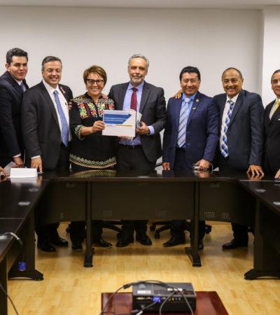 Va Laura Beristaín a la CDMX para cabildear con diputados federales recursos para 19 proyectos en Solidaridad