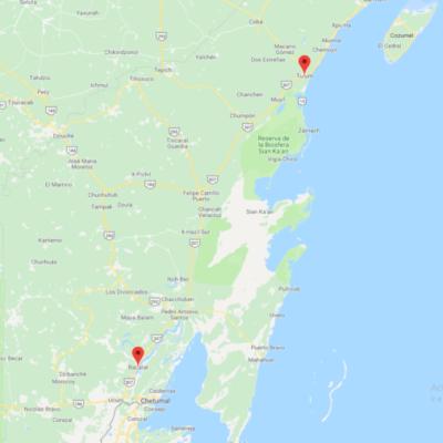 Se ampliarán a cuatro carriles y se dará mantenimiento a 207.84 kilómetros de carretera entre Bacalar-Tulum, con una inversión de mil 800 mdp
