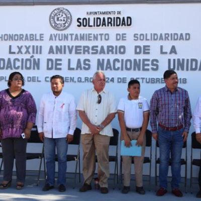 Durante aniversario de la fundación de la ONU, llaman a solidarizarse con la Caravana Migrante en Playa del Carmen