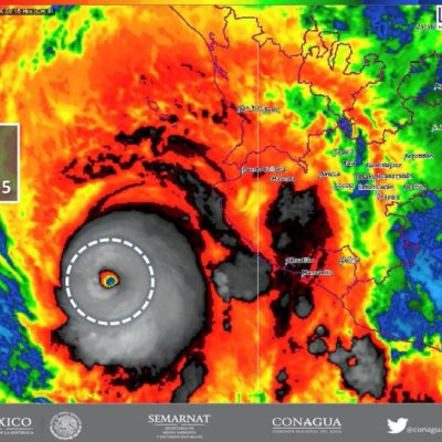 'Willa', el poderoso huracán categoría 5 que amenaza las costas del Pacifico mexicano