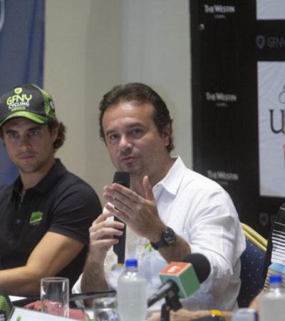 """""""Cozumel es la mejor sede para competencias deportivas"""", dice Pedro Joaquín y asegura que el Gran Fondo New York Cozumel 2018 superó expectativas"""