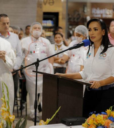 Inaugura Alcaldesa nueva tienda Chedraui Selecto en el Casco Antiguo de Puerto Morelos