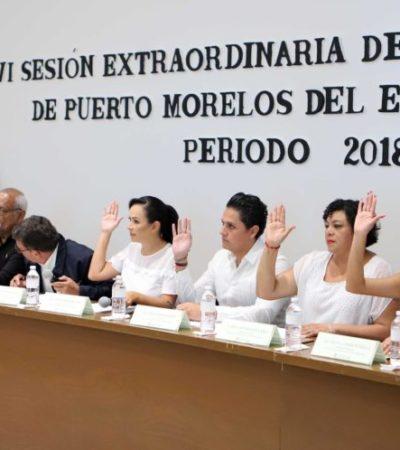 Aprueba Cabildo de Puerto Morelos Ley de Ingresos 2019
