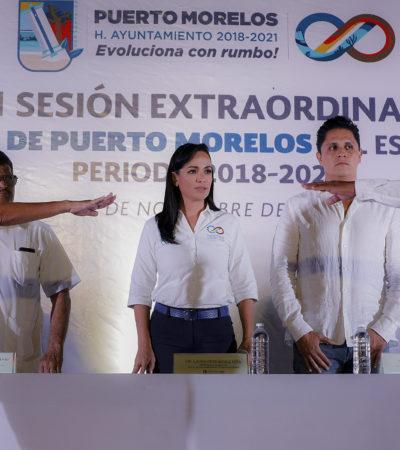 Rinde protesta José Alberto Cahuich Ramírez como nuevo delegado de Leona Vicario
