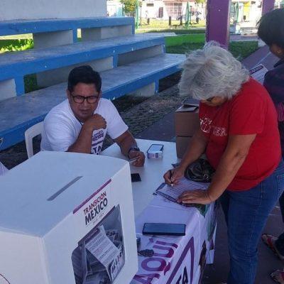 Esperan importante participación ciudadana en Consulta Nacional en Chetumal este domingo