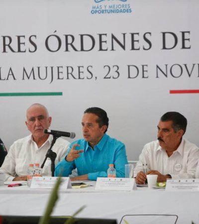 Acude Juan Carrillo a Reunión Plenaria de los tres órdenes de gobierno
