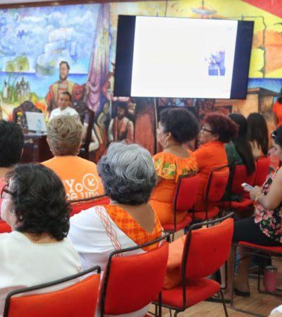 Gobierno de Isla Mujeres busca erradicar la violencia contra la mujer