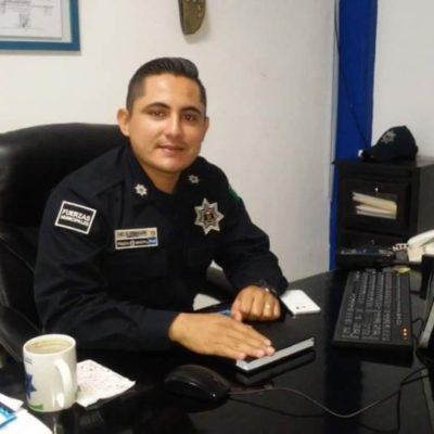 """""""No hay acercamiento con el secretario de Seguridad Pública para considerar el Mando Único"""", afirma Osiris Ceballos, director de la policía en Chetumal"""