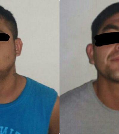 Detienen a dos personas armadas en Playa del Carmen