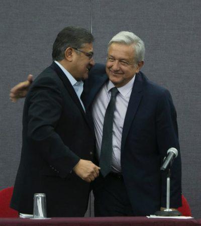 'CON TODO RESPETO': Ofrece López Obrador mediar para comicios democráticos en el SNTE