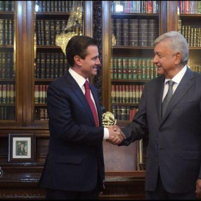 Inicia AMLO su sexenio con más del 60% de aprobación; Peña Nieto se va con 24%, el más bajo en 2 décadas