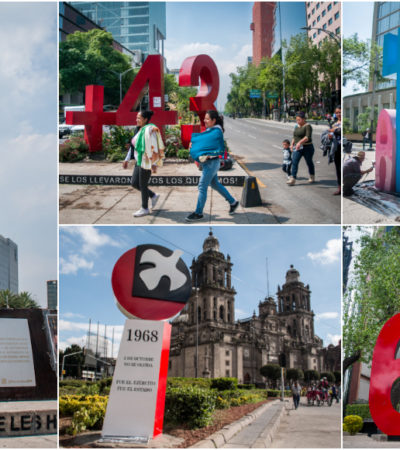 FOTOS | Simbolizan los 'antimonumentos' de la CDMX distintas tragedias ocurridas en el país