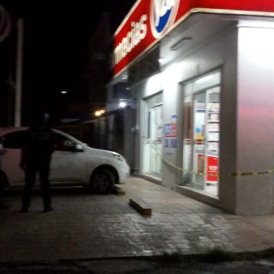 Asalto a farmacia genera movilización en Chetumal