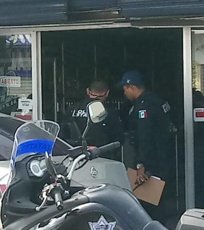 Asalto armado en el centro de Chetumal