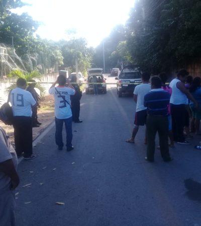 PRIMERA EJECUCIÓN EN LA HISTORIA EN EL IDEAL: Persiguen encapuchados y asesinan a mujer a balazos en comunidad de Lázaro Cárdenas; una niña, herida