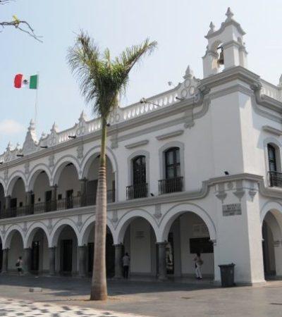 Niega Ayuntamiento de Veracruz la Plaza de Armas para transmitir toma de protesta de AMLO