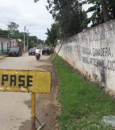 Barda del ICAT, peligro público en José María Morelos